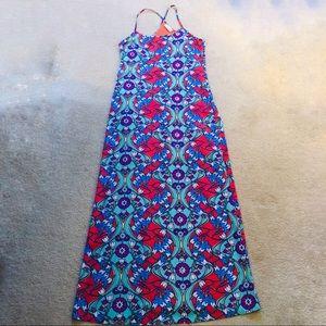 Peach Love California Maxi Floral Dress